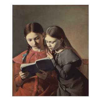 The Artist s Sisters Signe and Henriette Poster
