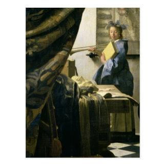 The Artist s Studio c 1665-6 Post Cards