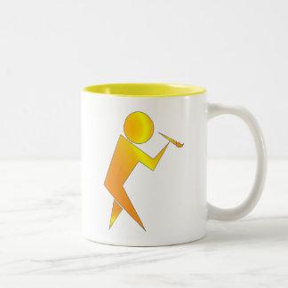 The Artist Two-Tone Coffee Mug