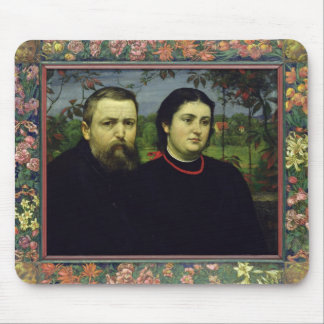 The Artist with his Wife Bonicella, 1887 Mouse Pad