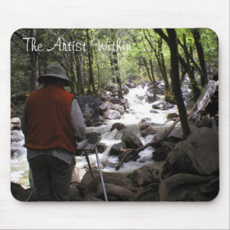 The Artist Within by Julie L. Cleveland Mouse Pad