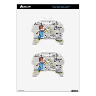 The Artist Xbox 360 Controller Skins
