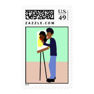 The Artiste Stamp