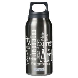 The Artistic Process Creative Artist Art Student's Insulated Water Bottle
