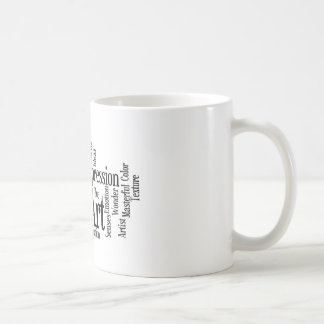 The Artistic Process Creative Artist Art Student's Coffee Mugs