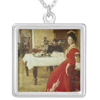 The Artist's Daughter, 1905 Silver Plated Necklace