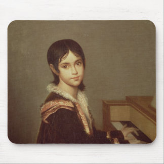 The Artist's Daughter at the Piano Mousepad