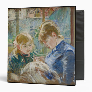 The Artist's Daughter, Julie, with her Nanny Binder