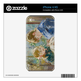 The Artist's Daughter, Julie, with her Nanny iPhone 4 Skins