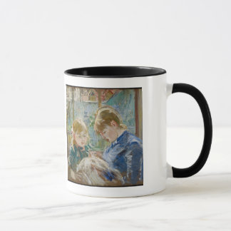 The Artist's Daughter, Julie, with her Nanny Mug