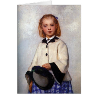 The Artist's Daughter Louise Card