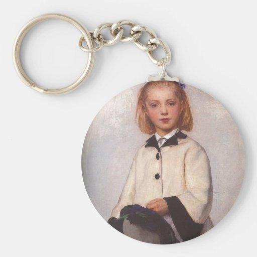 The Artist's Daughter Louise Basic Round Button Keychain