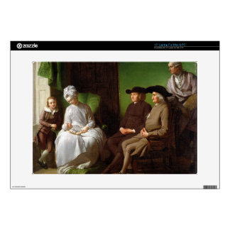 "The Artist's Family (oil on canvas) 15"" Laptop Skins"
