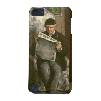 """The Artist's Father, Reading """"L'Événement"""", 1866 iPod Touch 5G Cover"""