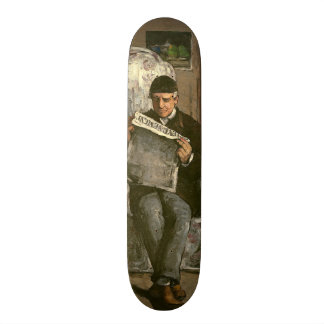 "The Artist's Father, Reading ""L'Événement"", 1866 Skateboard Deck"