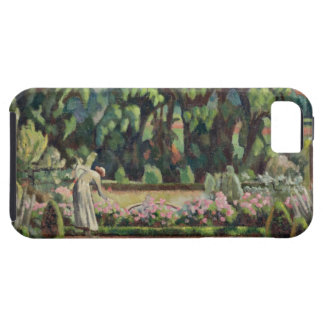 The Artist's Garden at Durbins, c.1915 (oil on can iPhone SE/5/5s Case