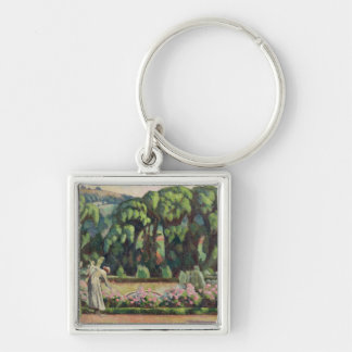 The Artist's Garden at Durbins, c.1915 (oil on can Keychains