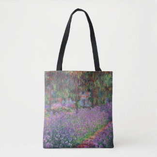 The Artist's Garden at Giverny, 1900 Tote Bag