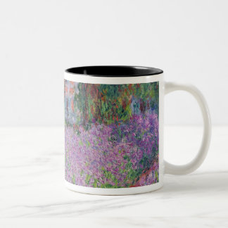 The Artist's Garden at Giverny, 1900 Two-Tone Coffee Mug
