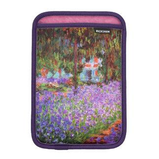 The Artist's Garden at Giverny by Monet iPad Mini Sleeve