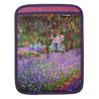 The Artist's Garden at Giverny by Monet iPad Sleeve