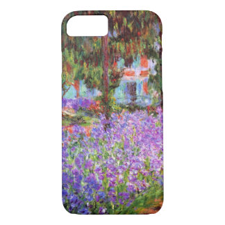 The Artist's Garden at Giverny by Monet iPhone 7 Case