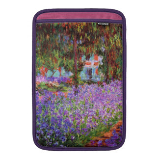 The Artist's Garden at Giverny by Monet MacBook Air Sleeve