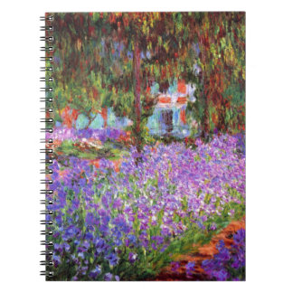 The Artist's Garden at Giverny by Monet Notebook