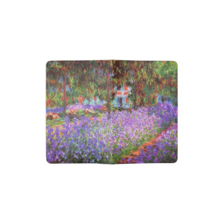 The Artist's Garden at Giverny by Monet Pocket Moleskine Notebook