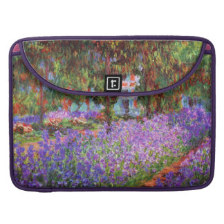 The Artist's Garden at Giverny by Monet Sleeve For MacBooks