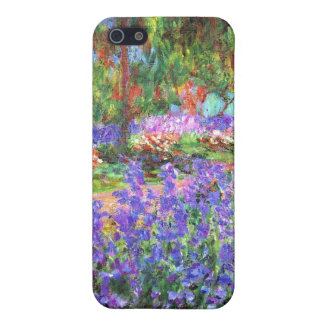 The Artist's Garden at Giverny, Claude Monet Cover For iPhone SE/5/5s