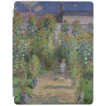 The Artist's Garden at Vetheuil, 1880 iPad Cover