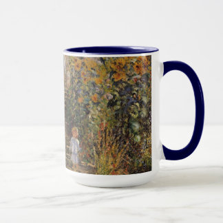 The Artist's Garden at Vetheuil by Claude Monet Mug