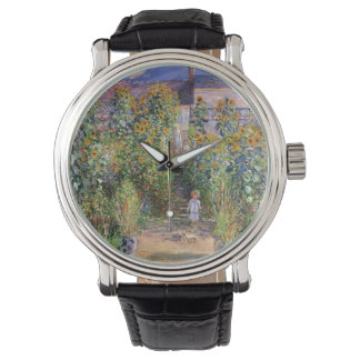 The Artist's Garden by Claude Monet Watch