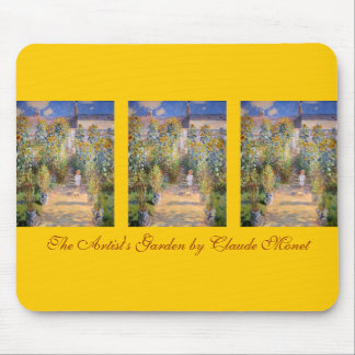 The Artist's Garden Mouse Pad