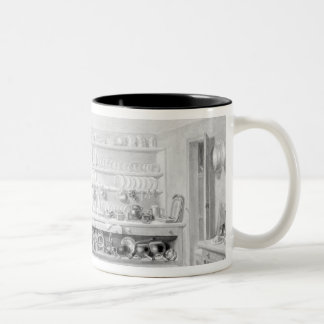 The Artist's Kitchen in Francis Street, 1846 Mugs