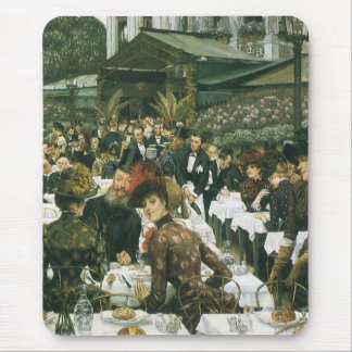 The Artist's Ladies by James Tissot Mouse Pad