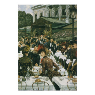 The Artist's Ladies by James Tissot Poster