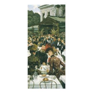 The Artist's Ladies by James Tissot Rack Card Design