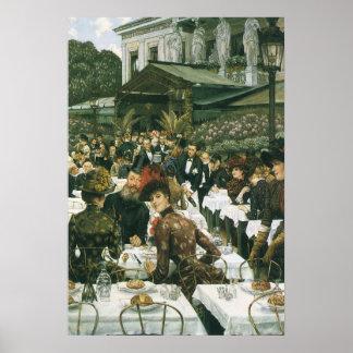 The Artist's Ladies by James Tissot, Vintage Art Poster