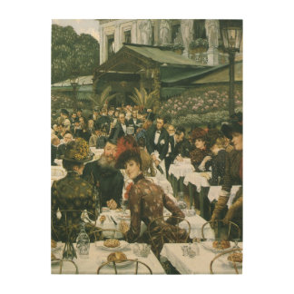 The Artist's Ladies by James Tissot Wood Wall Decor