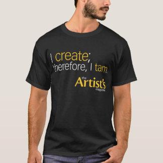 The Artist's Magazine Mens Black T T-Shirt