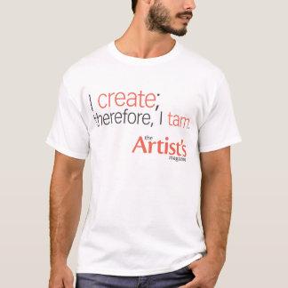 The Artist's Magazine Mens White T T-Shirt