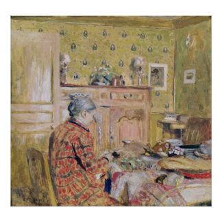 The Artist's Mother Taking Breakfast, 1899-1904 Posters
