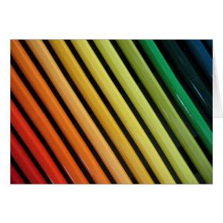 The Artist's Rainbow Greeting Card
