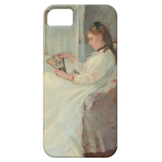 The Artist's Sister at a Window, 1869 iPhone SE/5/5s Case