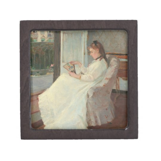 The Artist's Sister at a Window, 1869 Keepsake Box
