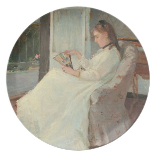 The Artist's Sister at a Window, 1869 Plate