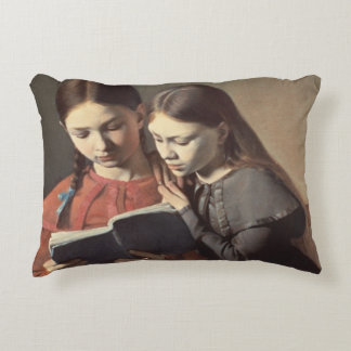 The Artist's Sisters Signe and Henriette Accent Pillow