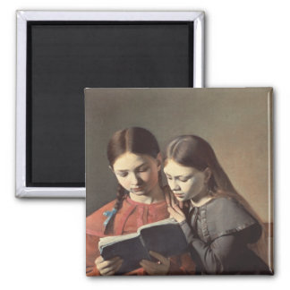 The Artist's Sisters Signe and Henriette Magnet
